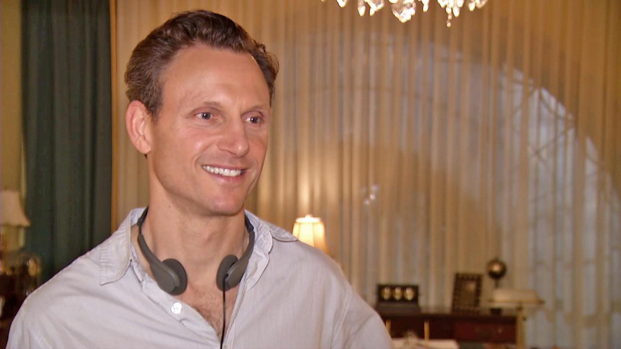 Tony Goldwyn talks to OTRC.com on the set of Scandal on April 4, 2013.