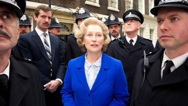 Meryl Streep appears in a scene from the 2011 film 'The Iron Lady.'