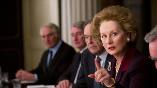 Meryl Streep appears in a scene from the 2011 film 'The Iron Lady