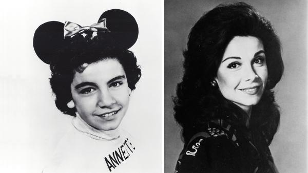Annette Funicello appears as a child in an undated publicity photo for The Mickey Mouse Club. / Annette Funicello appears as an adult in an undated publicity photo. - Provided courtesy of Walt Disney Company