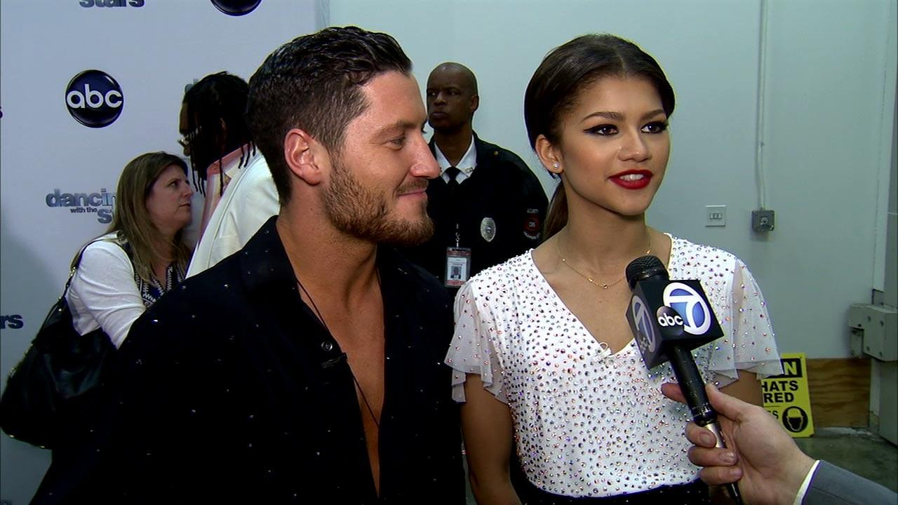 Dancing With The Stars contestant Zendaya Coleman speaks after season 16s fourth week of performances on April 8, 2013.