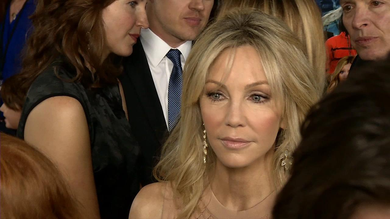 Heather Locklear appears at the Scary Movie 5 premiere in Los Angeles on April 11, 2013.