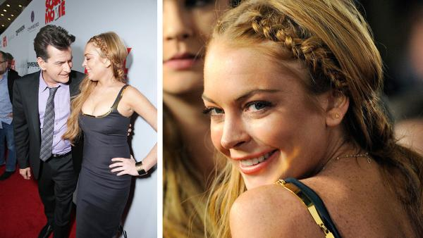 Lindsay Lohan appears at the Scary Movie 5 premiere in Los Angeles on April 11, 2013. - Provided courtesy of OTRC