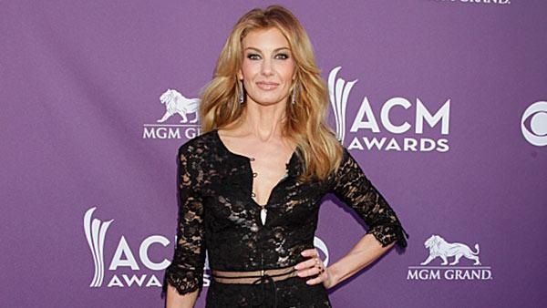 Faith Hill appears on the Red Carpet at the 48th Annual Academy of Country Music Awards at the MGM Grand Garden Arena in Las Vegas on April 7, 2013. - Provided courtesy of Francis Specker / CBS