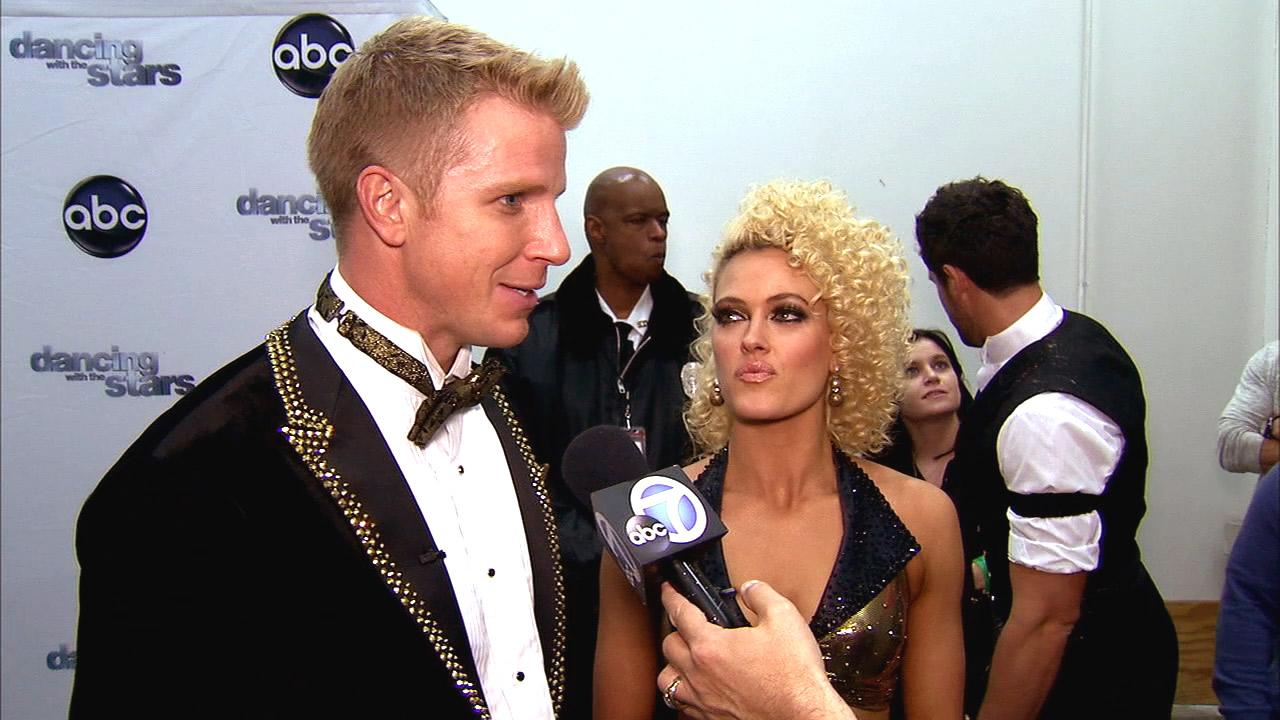 Dancing With The Stars contestant Sean Lowe speaks after season 16s fifth week of performances on April 15, 2013.
