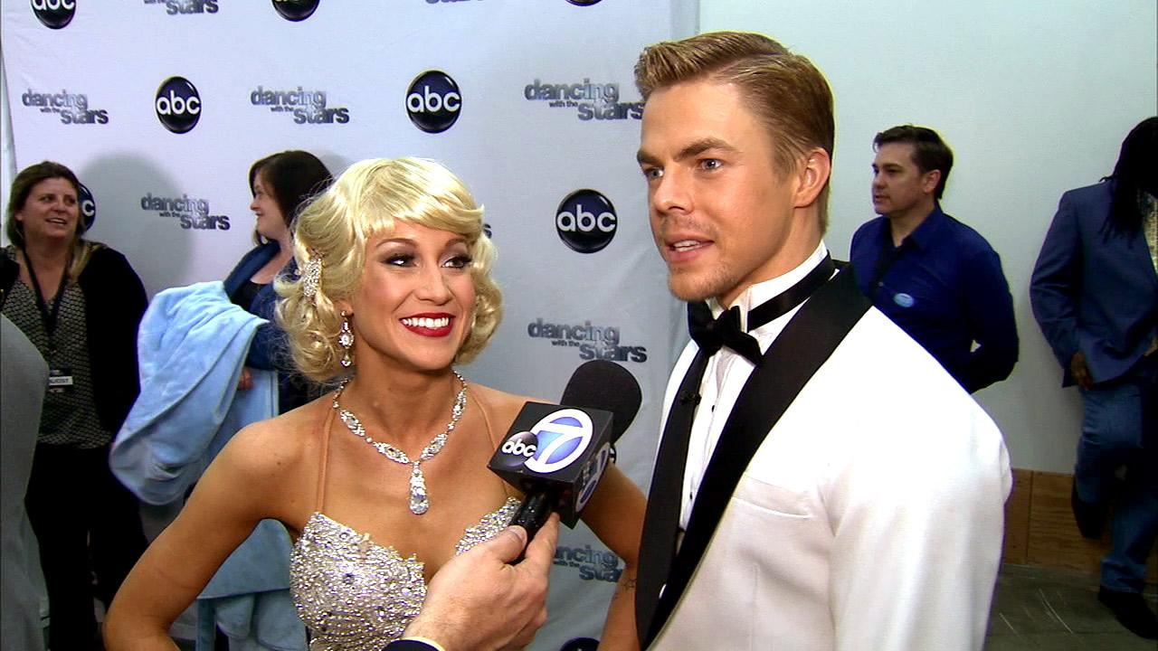 Dancing With The Stars contestant Kellie Pickler speaks after season 16s fifth week of performances on April 15, 2013.