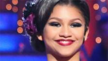 Dancing With The Stars contestant Zendaya appears on week five of the ABC show on April 15, 2013. - Provided courtesy of ABC / Adam Taylor
