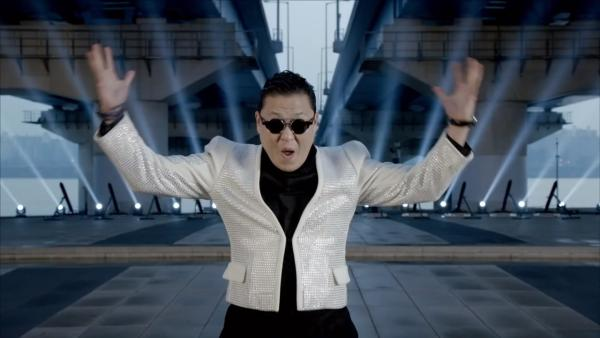 PSY appears in a still from his music video Gentleman which was released on Friday, April 12, 2013. - Provided courtesy of YG Entertainment Inc