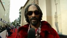 Snoop Dogg, also known as Snoop Lion, talks to OTRC.com on the red carpet at the MTV Movie Awards on April 14, 2013. - Provided courtesy of OTRC