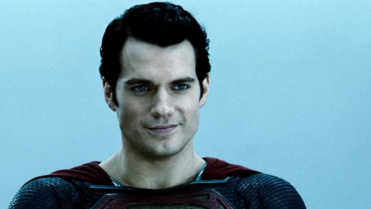 Henry Cavill appears as Superman in this scene from the 2013 movie Man of Steel.