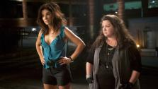 Sandra Bullock and Melissa McCarthy appear in a scene from the 2013 movie The Heat. Bullock plays an FBI agent and McCarthy plays a foul-mouthed Boston cop. They team up to try to nab a ruthless drug lord. - Provided courtesy of none / Twentieth Century Fox Film Corporation