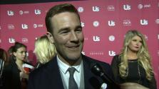 James Van Der Beek talks to OTRC.com at Us Weeklys style winners party on April 18, 2013. - Provided courtesy of OTRC