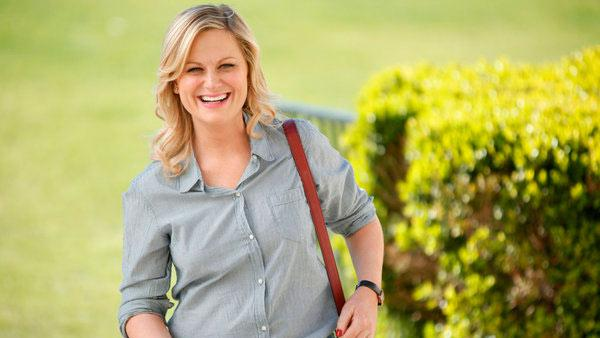 Amy Poehler appears in a scene from a 2013 episode of the NBC series Parks and Recreation. - Provided courtesy of NBC