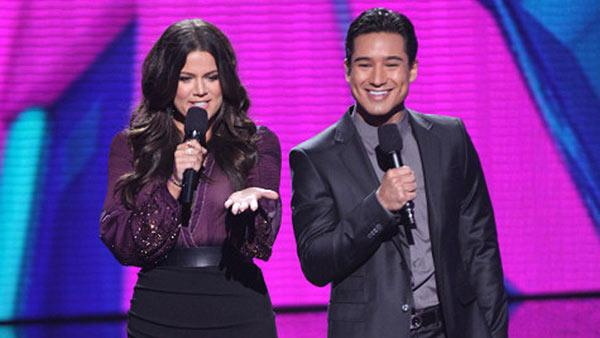 Khloe Kardashian Odom and Mario Lopez co-host an episode of FOXs The X Factor on Oct. 31, 2013. FOX announced on April 22, 2013 that she would not return for season 3, while Lopez would. - Provided courtesy of Brian Dowling / FOX
