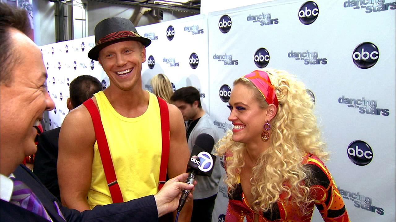 Dancing With The Stars contestant Sean Lowe speaks after season 16s sixth week of performances on April 22, 2013.