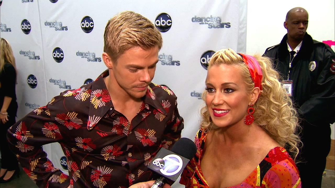 Dancing With The Stars contestant Kellie Pickler speaks after season 16s sixth week of performances on April 22, 2013.