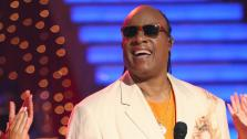 Stevie Wonder performs on week six of Dancing With The Stars, which aired on April 22, 2013. - Provided courtesy of ABC / Adam Taylor