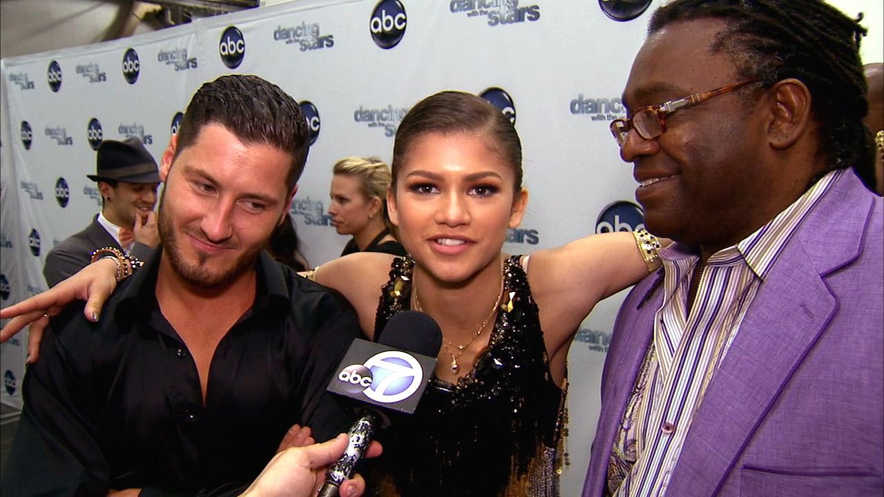 Dancing With The Stars contestant Zendaya Coleman speaks after season 16s week 6 elimination on April 23, 2013.