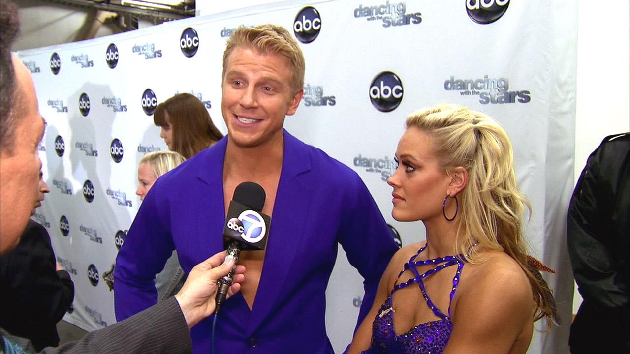 Dancing With The Stars contestant Sean Lowe speaks after season 16s week 6 elimination on April 23, 2013.