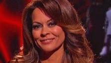 Brooke Burke-Charvet appears on ABCs Dancing With The Stars on April 23, 2013. - Provided courtesy of ABC