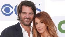 Shawn Sanford and Poppy Montgomery attend the CBS, Showtime and The CW 2012 TCA summer tour party on July 29, 2012 in Beverly Hills, California. - Provided courtesy of ABC / Todd Williamson/Invision/AP