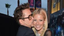 Robert Downey Jr. and Gwyneth Paltrow attend Marvels Iron Man 3 premiere at the El Capitan Theatre in Hollywood, California on April 24, 2013 in Hollywood, California. - Provided courtesy of Alberto E. Rodriguez / WireImage