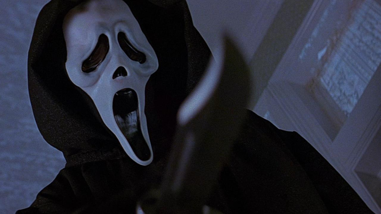 A scene from the 1996 movie Scream.