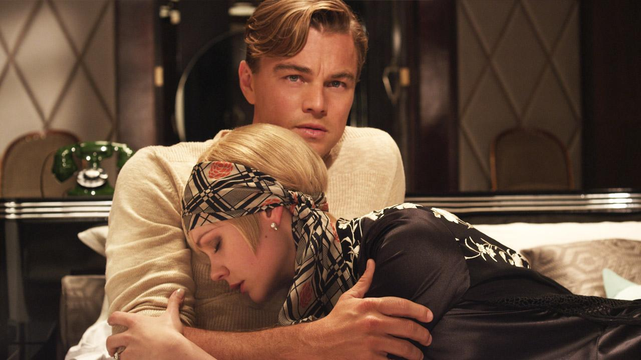 Leonardo DiCaprio and Carey Mulligan appear in a scene from the 2013 movie The Great Gatsby.