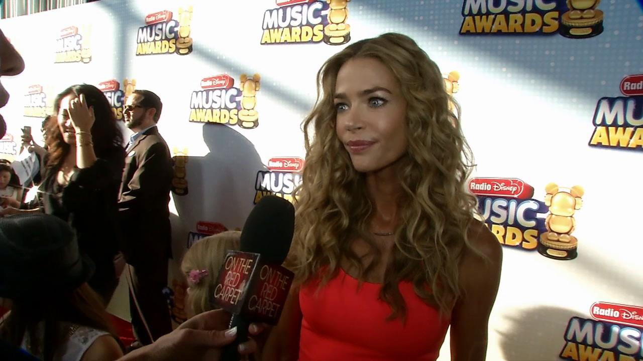 Denise Richards talks to OTRC.com at the 2013 Radio Disney Music Awards at the Nokia Theatre L.A. Live on April 27, 2013. The event will air on the Disney Channel and on Radio Disney on May 4.