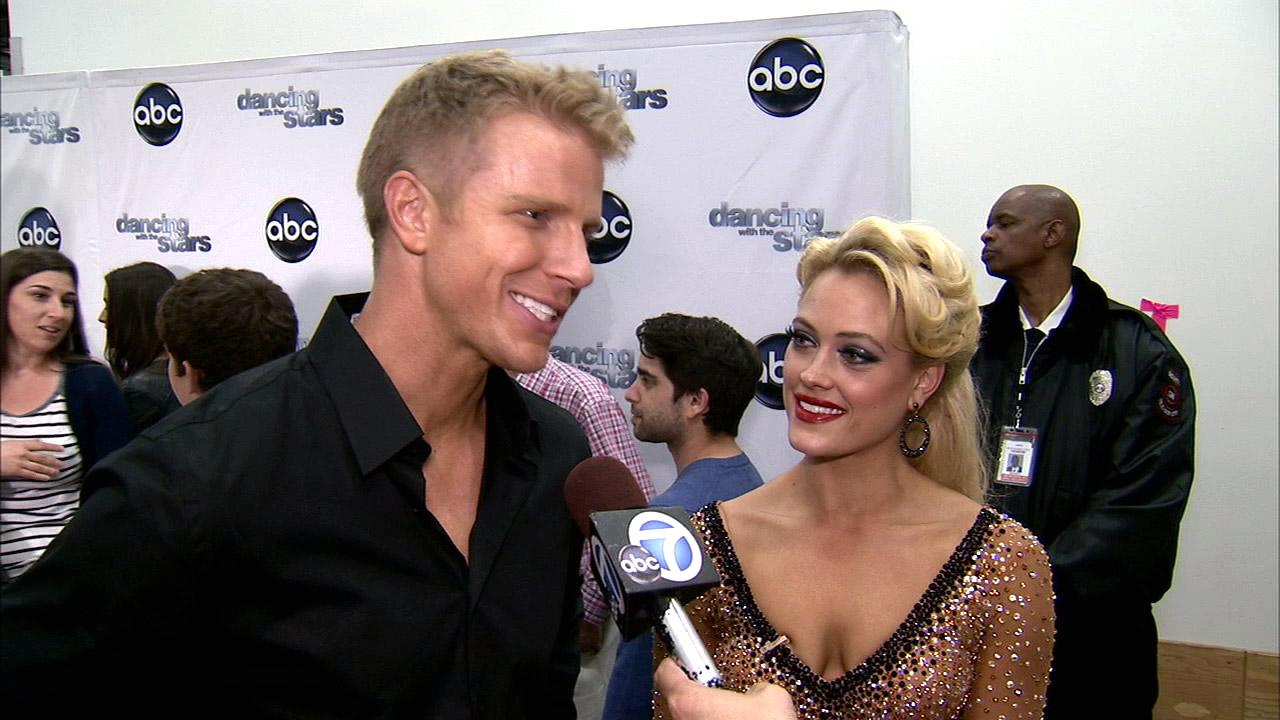 Dancing With The Stars contestant Sean Lowe speaks after season 16s seventh week of performances on April 29, 2013.