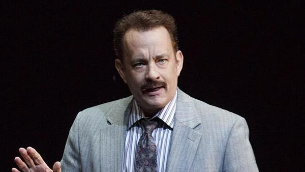 Tom Hanks appears in a scene from the 2013 Broadway play Lucky Guy. - Provided courtesy of facebook.com/LuckyGuyPlay
