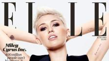 Miley Cyrus appears on the cover of ELLE UKs June 2013 issue. - Provided courtesy of Jan Welters / ELLE UK / Hearst Magazines