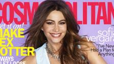 Sofia Vergara appears on the June 2013 issue of Cosmopolitan magazine. - Provided courtesy of Cosmopolitan