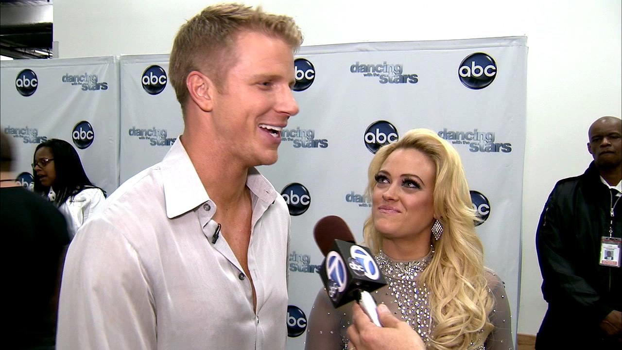 Dancing With The Stars contestant Sean Lowe speaks after season 16s week 7 elimination on April 30, 2013.