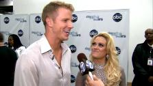 Dancing With The Stars contestant Sean Lowe speaks after season 16s week 7 elimination on April 30, 2013. - Provided courtesy of OTRC