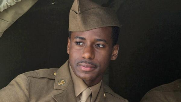 Gary Carr appears in a scene from the ITV series Foyles War in 2010. - Provided courtesy of ITV
