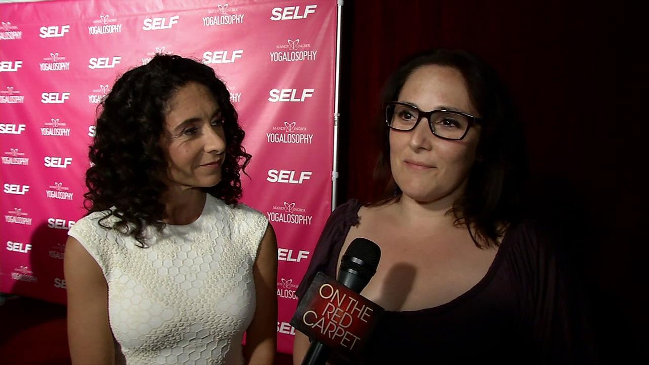 Mandy Ingber and Ricki Lake appear at an event promoting Ingbers new book, Yogalosophy: 28 Days to the Ultimate Mind-Body Makeover, on April 30, 2013 at the Soho House in West Hollywood, California.
