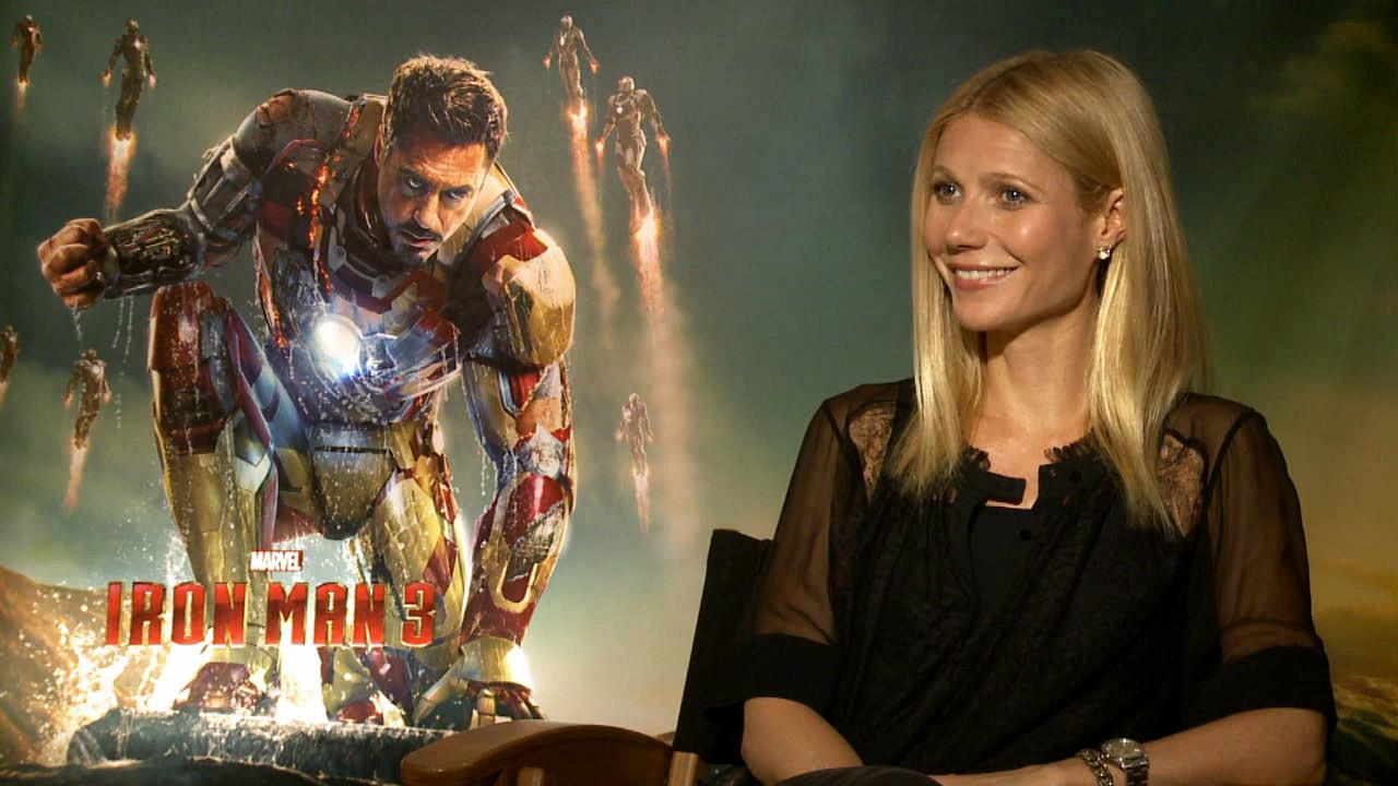 Gwyneth Paltrow talks to OTRC.com about her upcoming action film, Iron Man 3, which hits theaters on May 3, 2013.