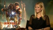Gwyneth Paltrow talks to OTRC.com about her upcoming action film, Iron Man 3, which hits theaters on May 3, 2013. - Provided courtesy of OTRC