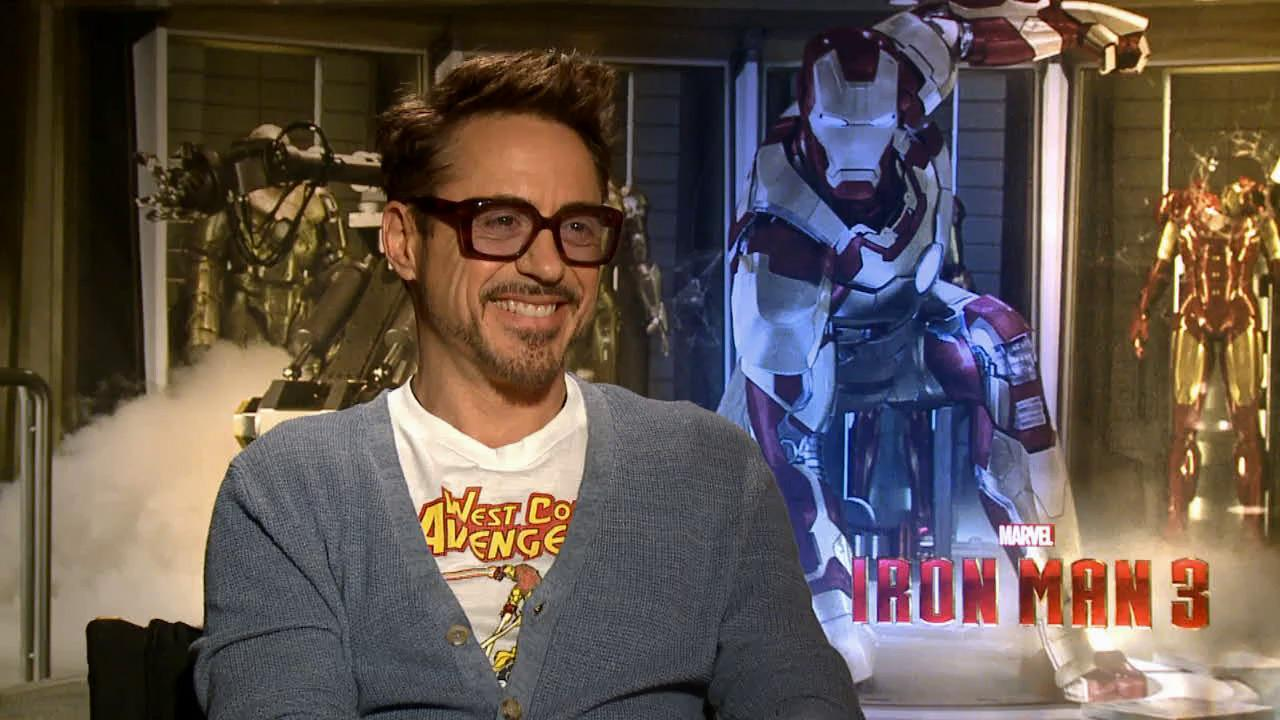 Robert Downey Jr. talks to OTRC.com about Iron Man 3 ahead of its May 3, 2013 release.