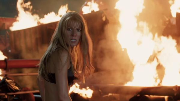 Gwyneth Paltrow appears in a scene from the 2013 film 'Iron Man 3.'