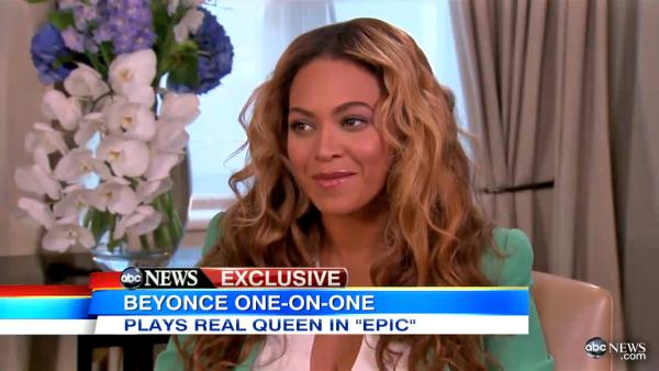 Singer Beyonce appears in an interview with Good Morning America which aired on May 6, 2013. - Provided courtesy of ABC News