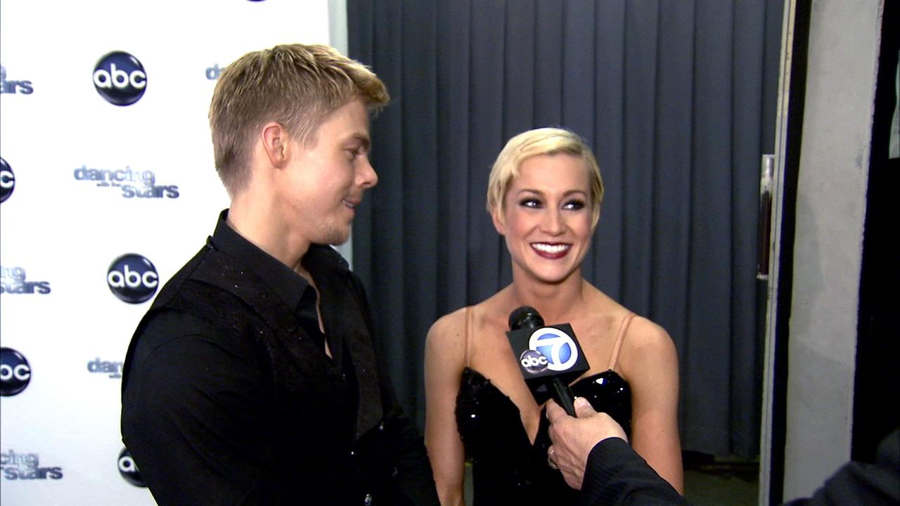 Dancing With The Stars contestant Kellie Pickler speaks after season 16s eighth week of performances on May 6, 2013.