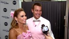 Dancing With The Stars contestant Ingo Rademacher speaks after season 16s eighth week of performances on May 6, 2013. - Provided courtesy of OTRC