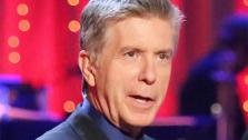 Dancing With The Stars co-host Tom Bergeron appears on week eight on May 7, 2013. - Provided courtesy of ABC Photo / Adam Taylor