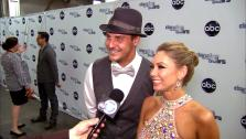 Dancing With The Stars contestant Ingo Rademacher speaks after season 16s week 7 elimination on May 7, 2013. - Provided courtesy of OTRC