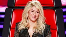 Shakira appears in a scene from the NBC competition series The Voice in March 2013. - Provided courtesy of NBC