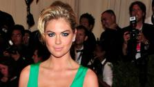 Kate Upton attends The Metropolitan Museum of Arts Costume Institute benefit celebrating PUNK: Chaos to Couture on Monday May 6, 2013 in New York. - Provided courtesy of Charles Sykes/Invision/AP