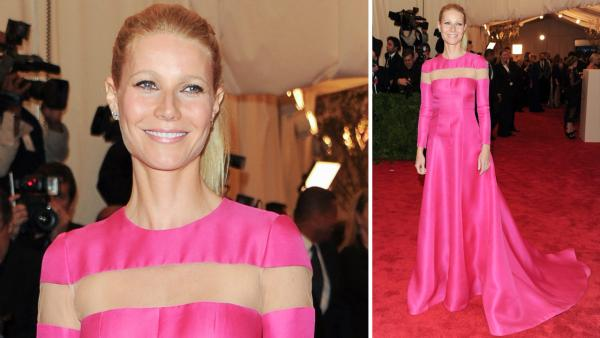Gwyneth Paltrow attends The Metropolitan Museum of Art  Costume Institute gala benefit, Punk: Chaos to Couture, on Monday, May 6, 2013 in New York. - Provided courtesy of Evan Agostini/Invision/AP