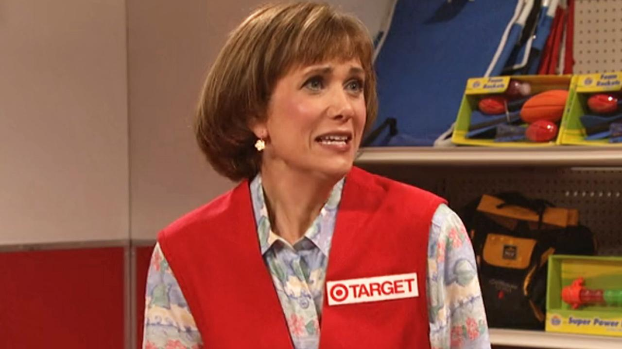 Kristen Wiig appears in a still from the May 11 episode of Saturday Night Live.